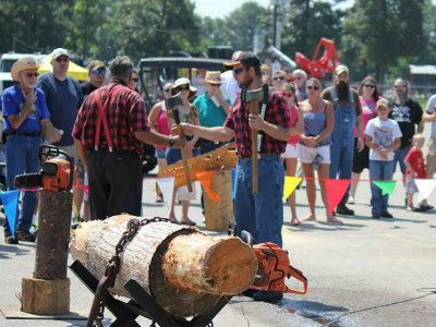 Texas Sawmill Festival in New Caney October 1