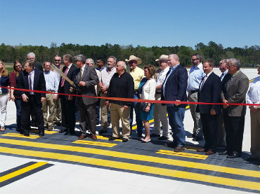 Lone Star Executive Airport ribbon-cutting officially opens new runway extension