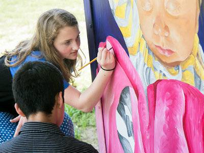 Travis Intermediate art students to showcase special project at Waterway Arts Festival