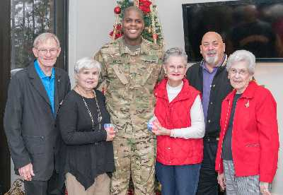 Conroe soldiers receive holiday gift from RE/MAX The Woodlands & Spring