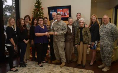 Conroe service men and women receive holiday cheer from RE/MAX The Woodlands & Spring