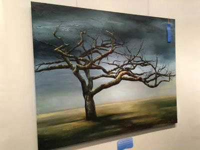 Conroe Art League's Judged Fall Art Show Group 1 on display through September