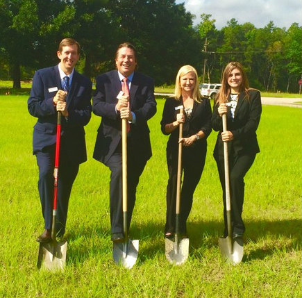 Westbound Bank breaks ground on new Conroe location